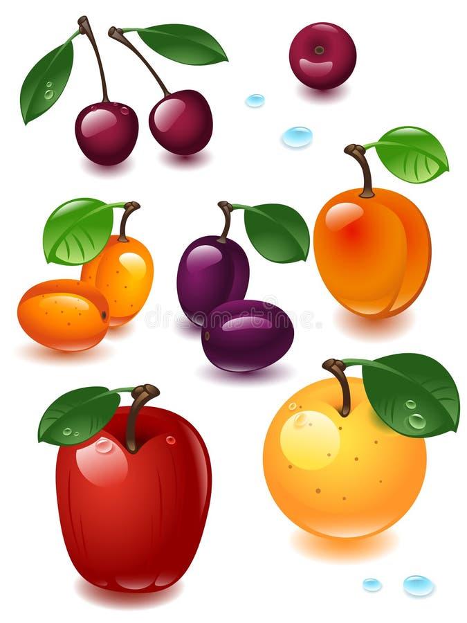 Fruta do jogo completo ilustração royalty free