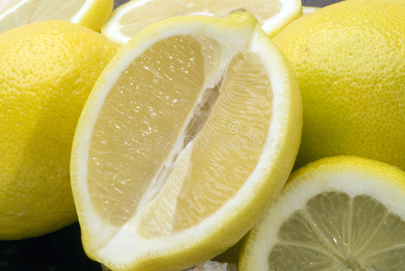 Fruta do limão imagens de stock royalty free