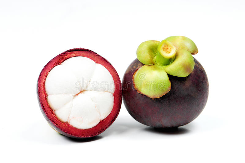 Fruta do mangustão foto de stock royalty free