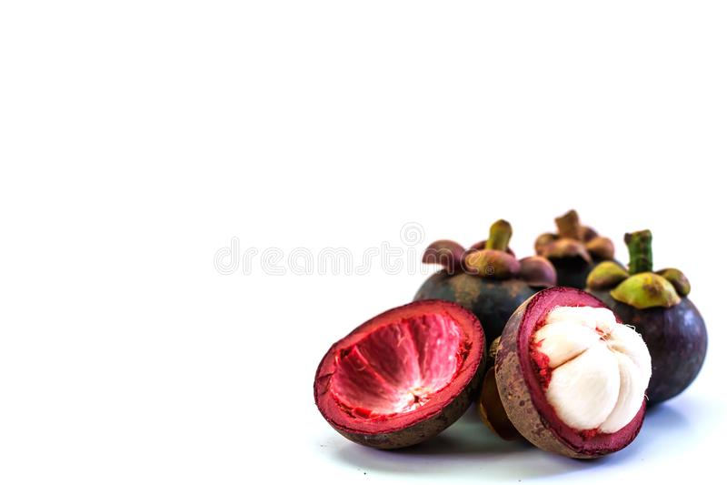 Fruta do mangustão imagem de stock royalty free
