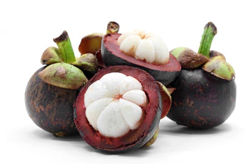 Fruta do mangustão imagens de stock