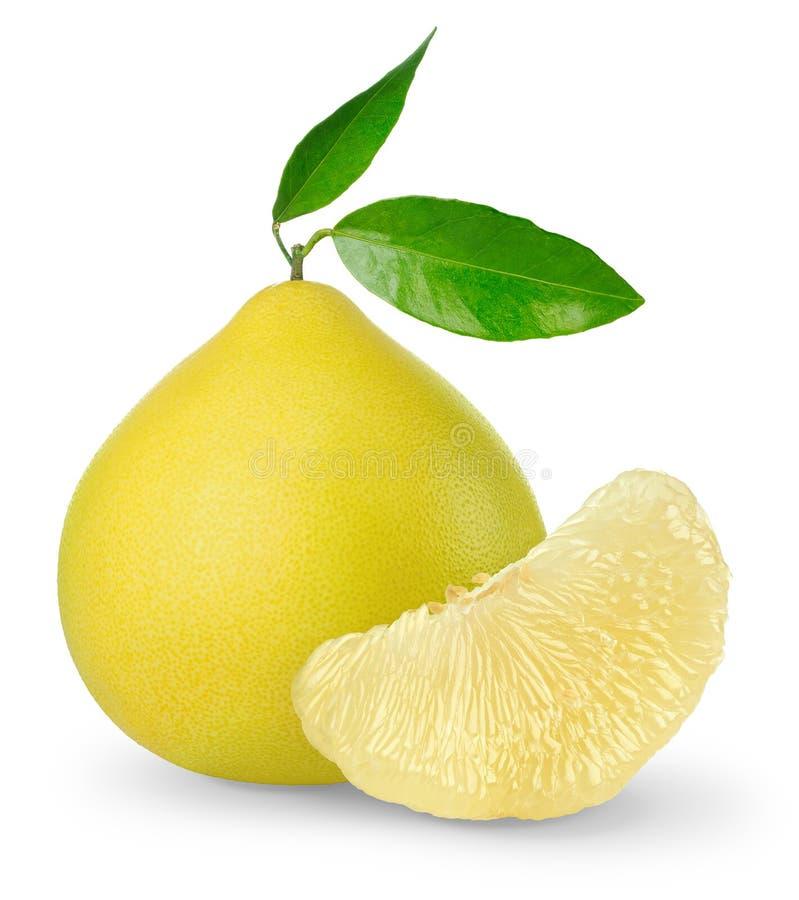 Fruta do Pomelo imagem de stock