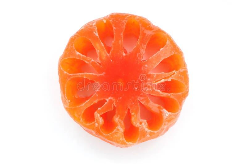 Fruta dulce de Bael foto de archivo