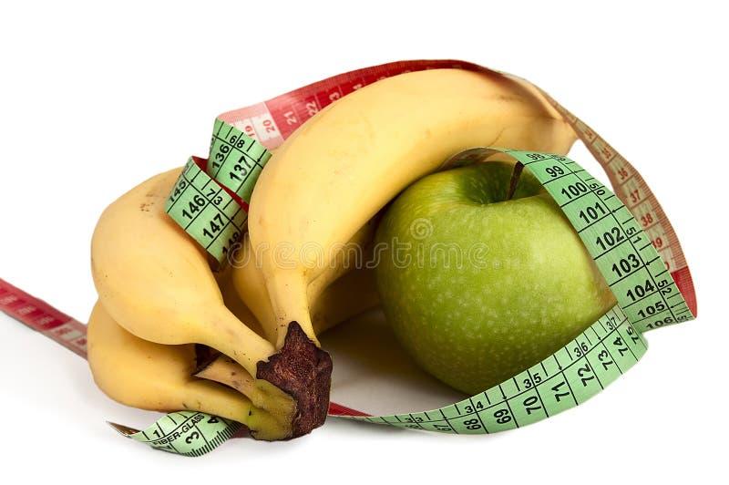 Fruta e cintura imagens de stock