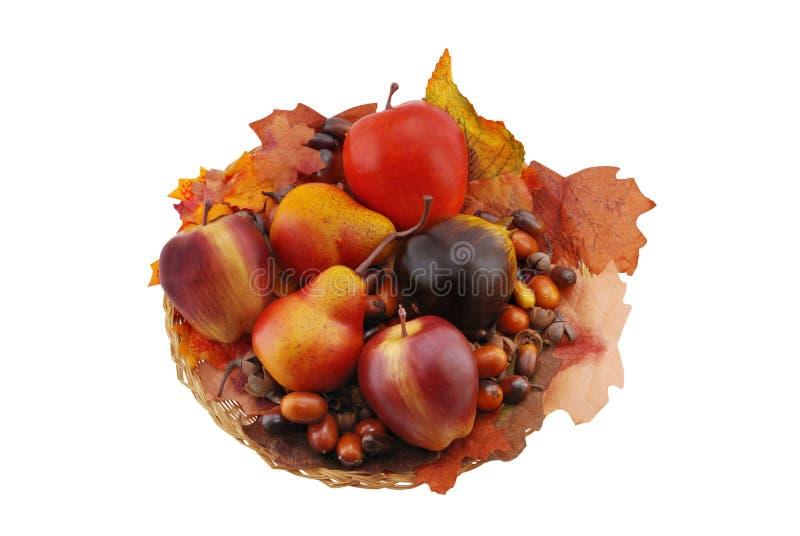 Fruta e porcas fotografia de stock