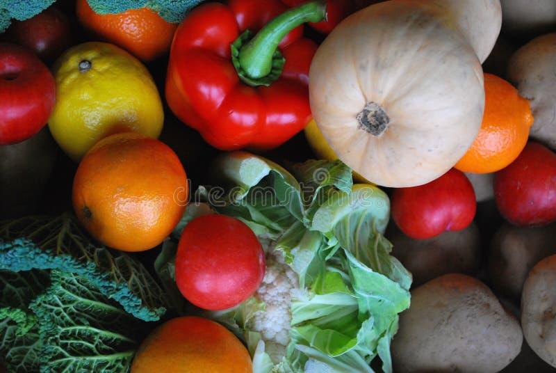 Fruta e veg 3 foto de stock