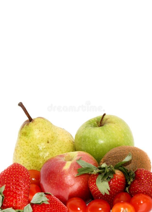 Fruta e veg estacionários foto de stock
