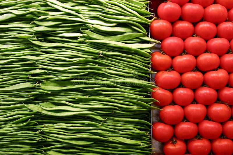 Fruta e verdura imagem de stock