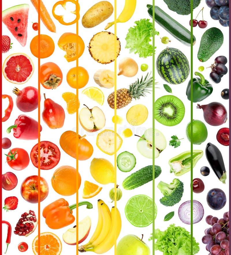 Fruta e verdura fresca foto de stock