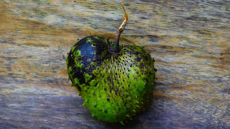 Fruta espinosa foto de archivo