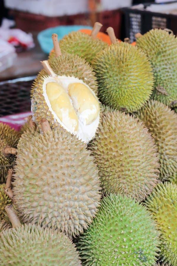 Fruta espinosa del durian fotos de archivo libres de regalías