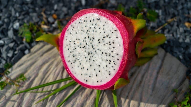 Fruta exótica del dragón foto de archivo