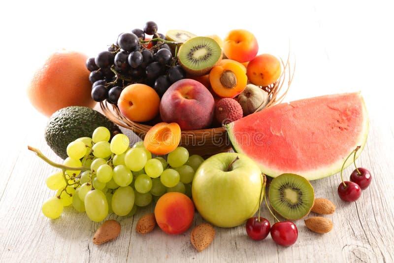 Fruta fresca Assorted imagens de stock royalty free