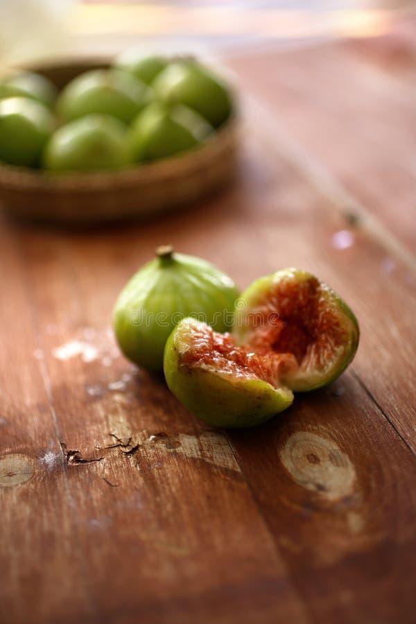 Fruta Fresca De Los Higos Fotografía de archivo libre de regalías