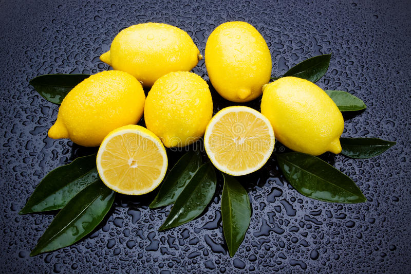 Fruta fresca del limón fotos de archivo libres de regalías