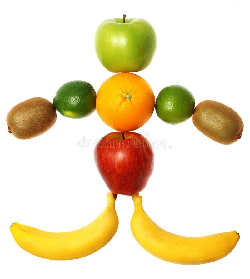 Fruta-hombre fotografía de archivo