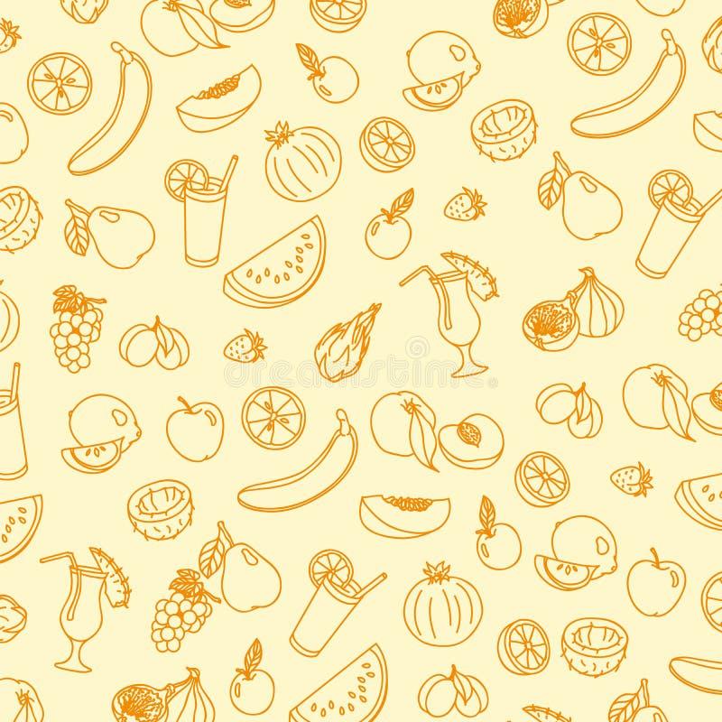Fruta jugosa madura ilustración del vector