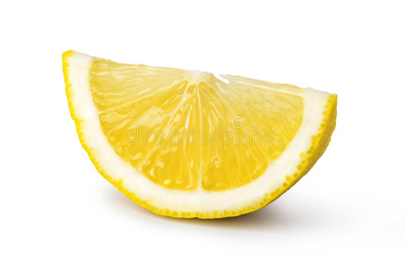 Fruta madura del limón fotografía de archivo