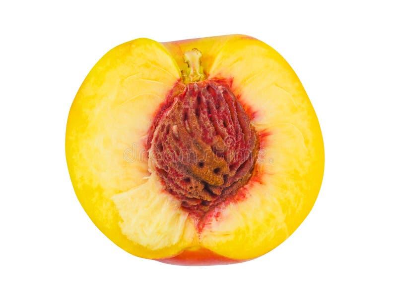 Fruta madura del melocotón fotos de archivo