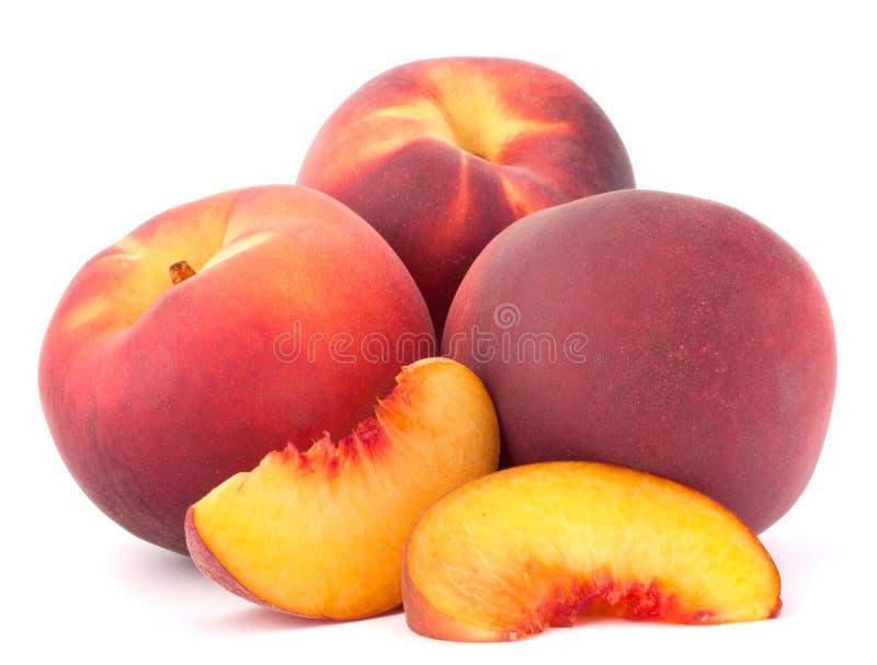 Fruta madura del melocotón fotografía de archivo libre de regalías