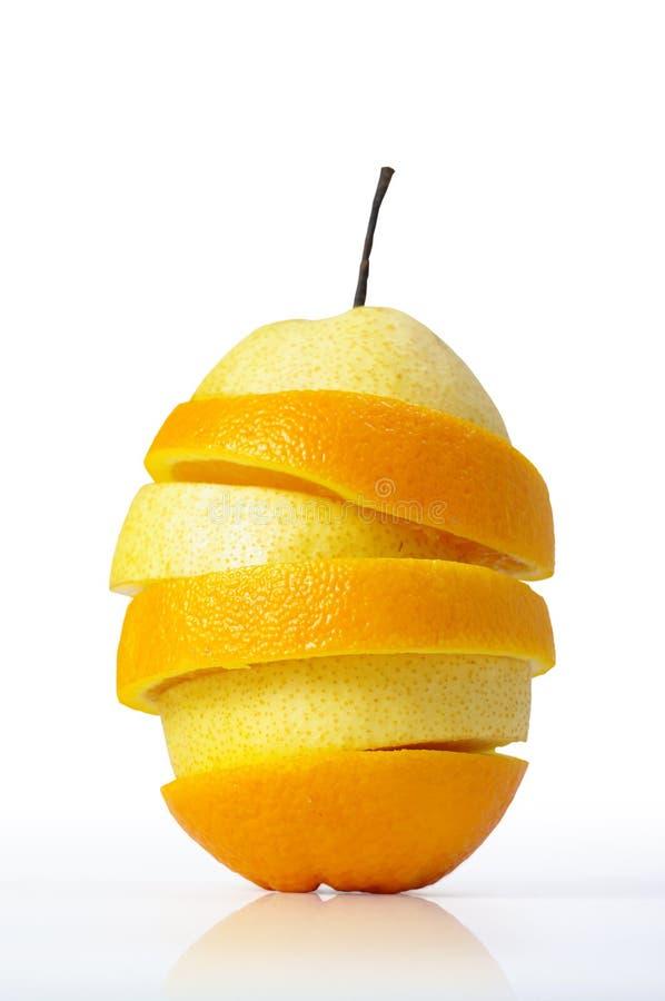 Fruta mezclada jugosa fresca fotografía de archivo libre de regalías