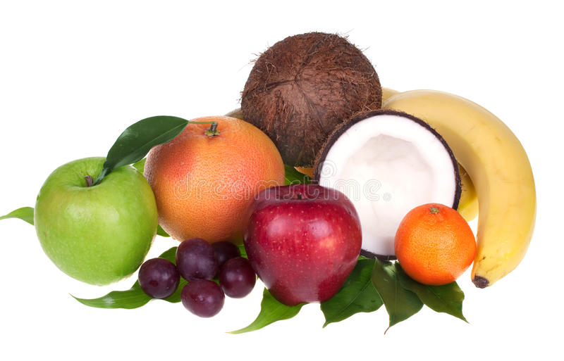 Fruta misturada fotos de stock royalty free