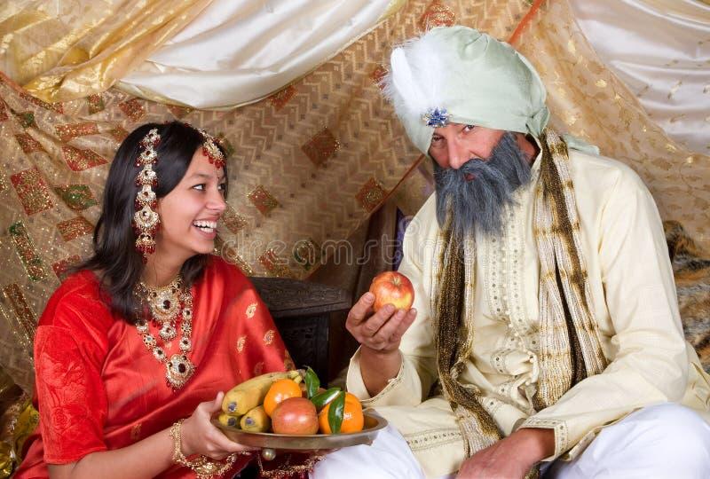 Fruta para o Maharaja foto de stock