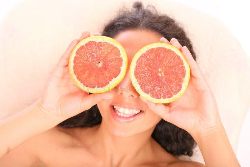 Fruta positiva foto de stock royalty free