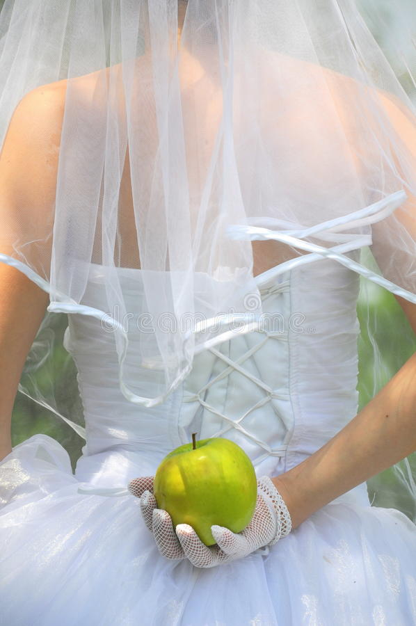 Fruta prohibida de Eve imagen de archivo libre de regalías