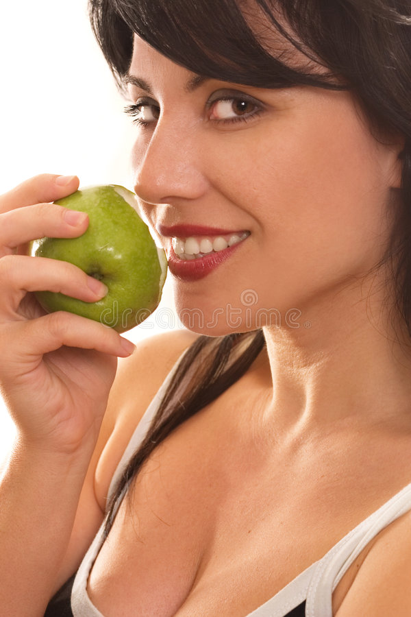 Fruta proibida foto de stock