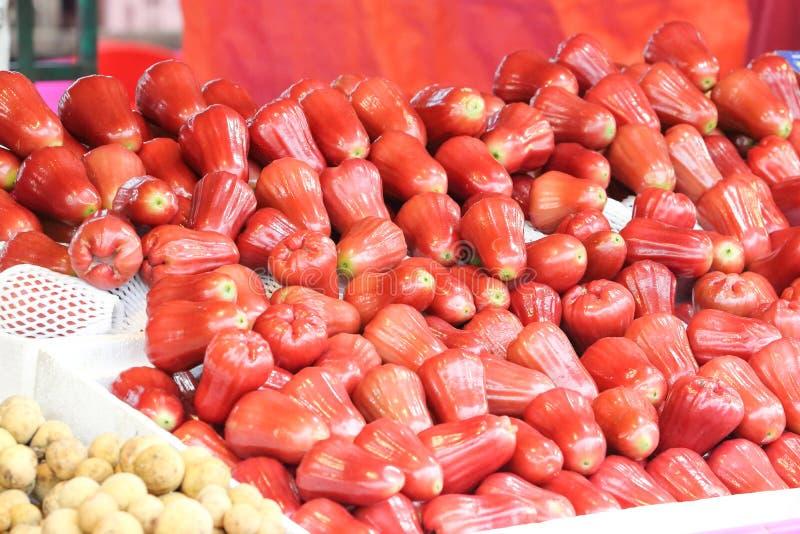 Fruta roja de Bell fotos de archivo