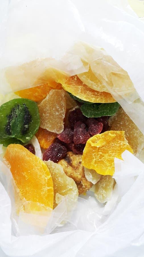 Fruta seca imagens de stock royalty free
