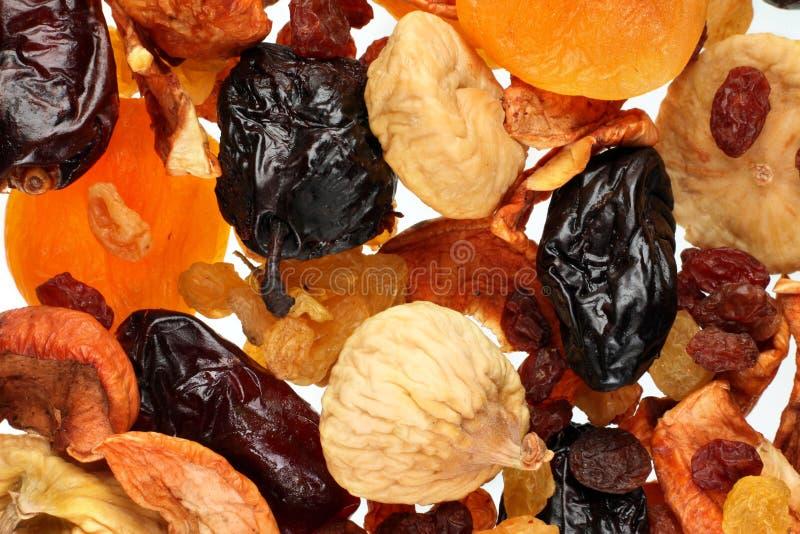 Fruta seca de la mezcla imagenes de archivo
