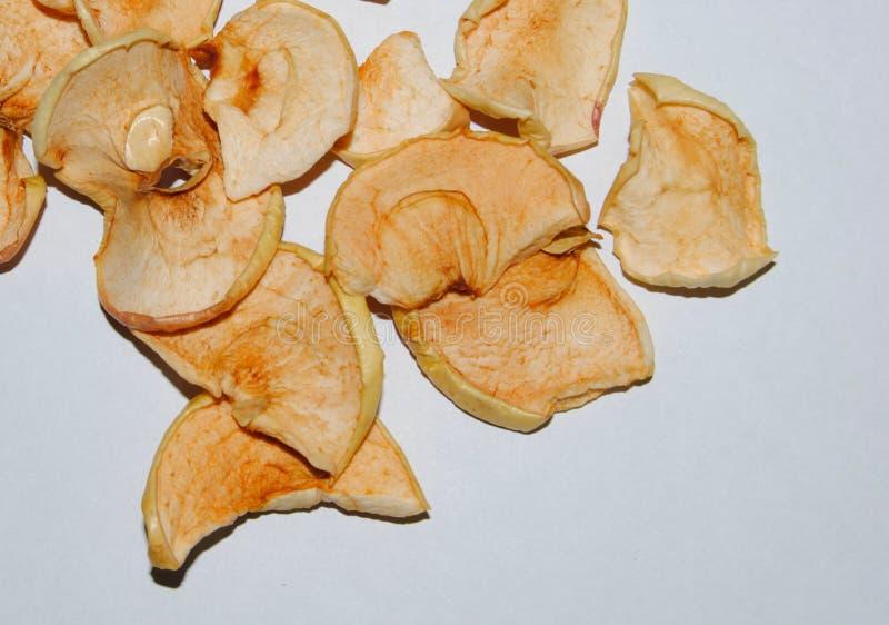 Fruta secada de la manzana fotografía de archivo libre de regalías