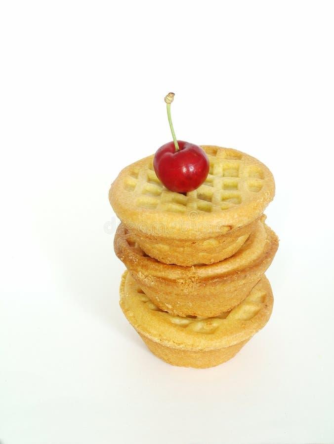 A fruta tritura tortas imagens de stock royalty free