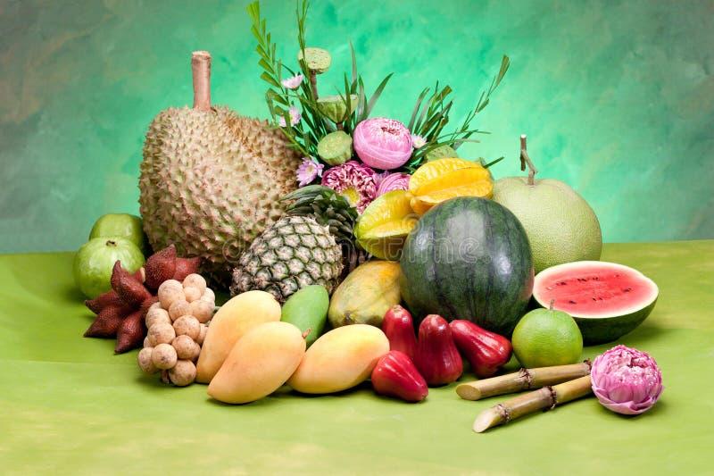 Fruta tropical de Tailândia fotos de stock