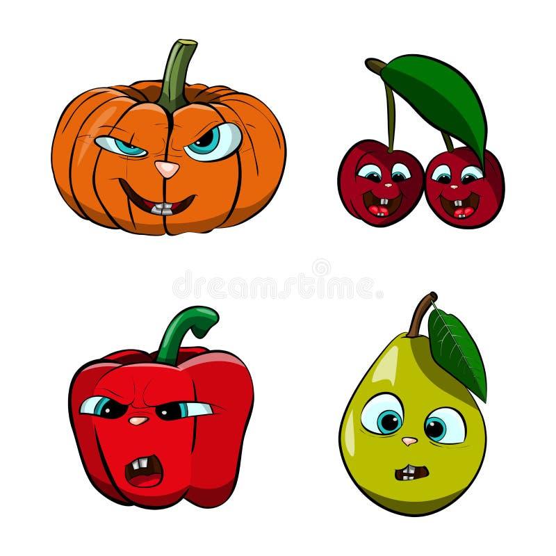 Fruta viva ilustración del vector