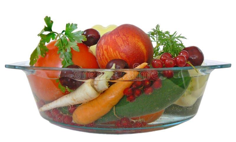 Fruta y verdura 1 fotografía de archivo libre de regalías