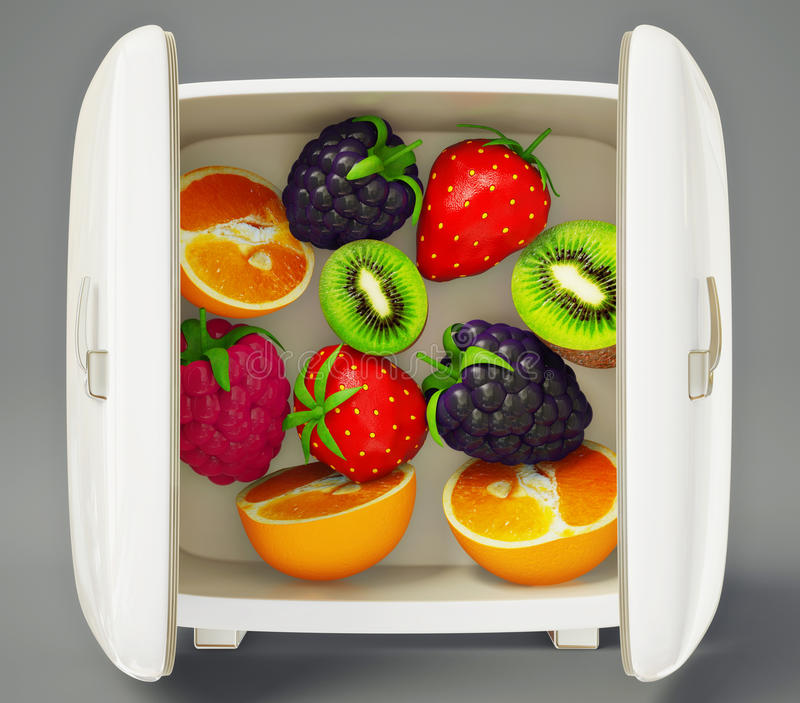 Frutas ilustración del vector