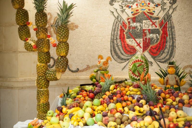 Frutas obrazy royalty free