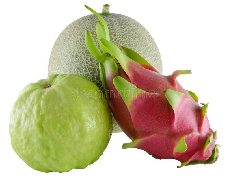 Frutas aisladas en el fondo blanco imágenes de archivo libres de regalías