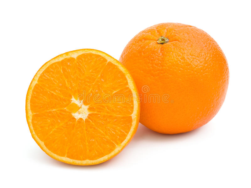 Frutas anaranjadas fotos de archivo