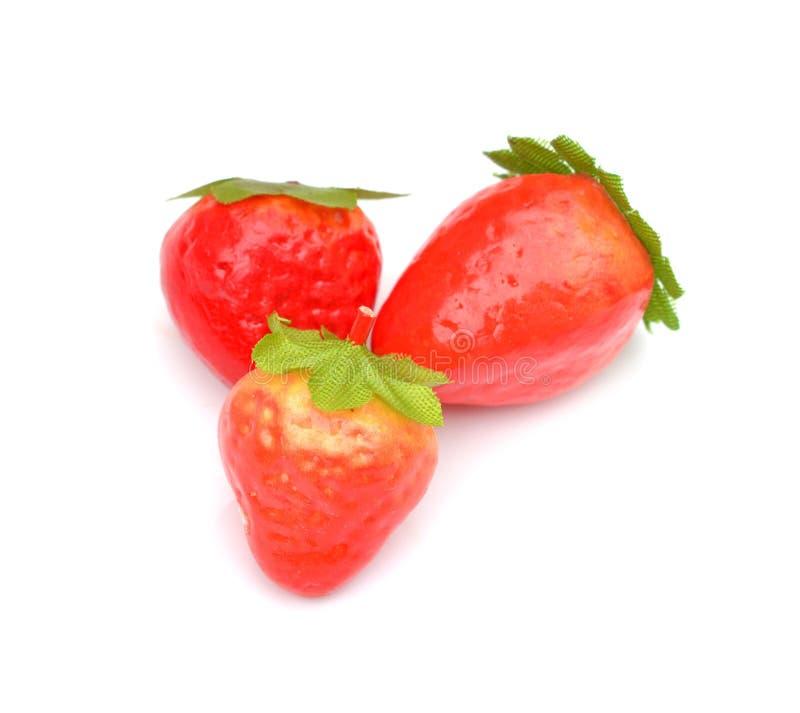Frutas artificiales clasificadas fotos de archivo