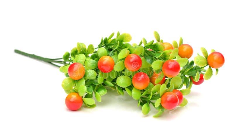 Frutas artificiales clasificadas fotos de archivo libres de regalías