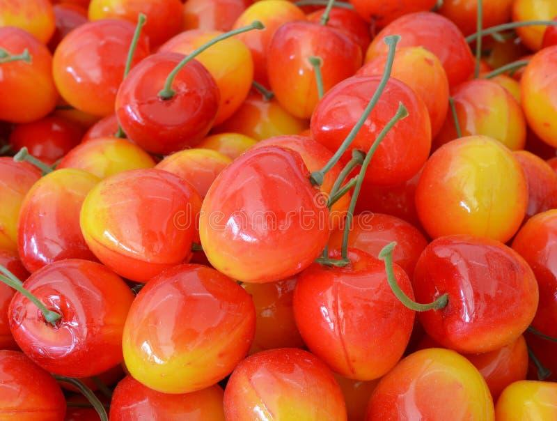 Frutas artificiales clasificadas imagen de archivo libre de regalías