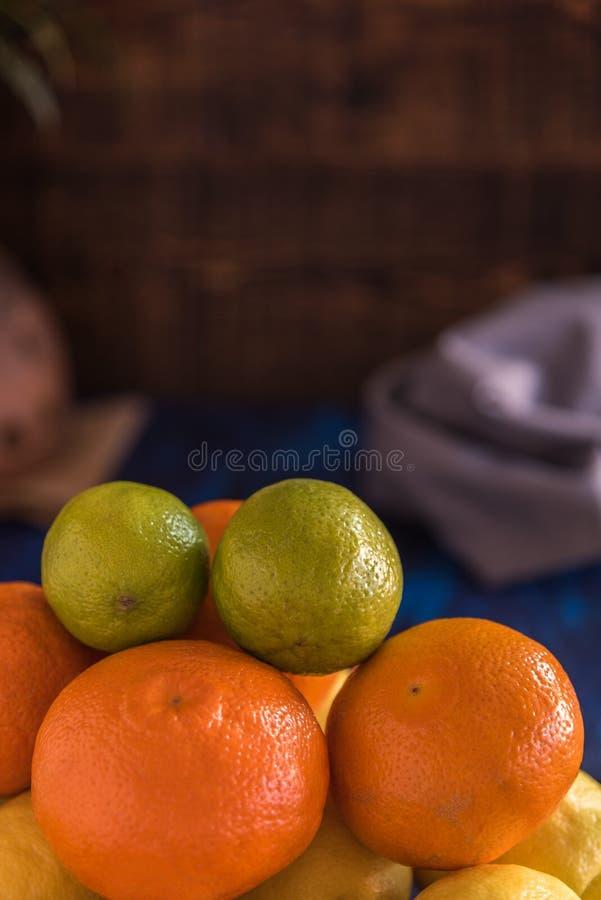 Frutas c?tricas fotografía de archivo