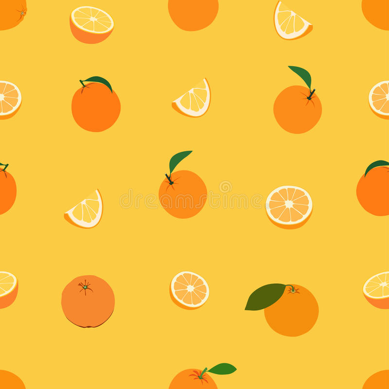 Frutas coloreadas stock de ilustración