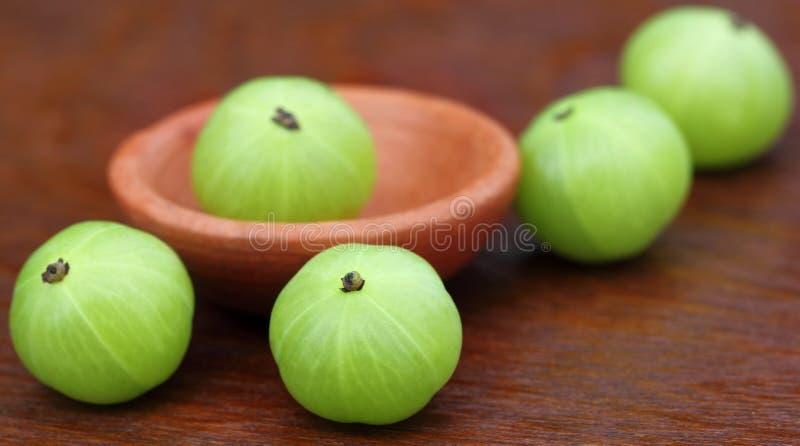 Frutas de Amla foto de archivo