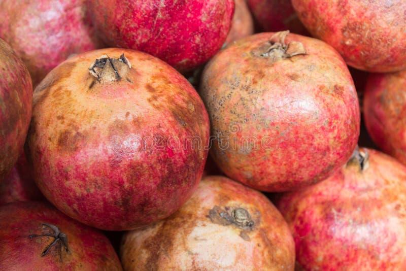Frutas de /grenadine de las granadas foto de archivo libre de regalías