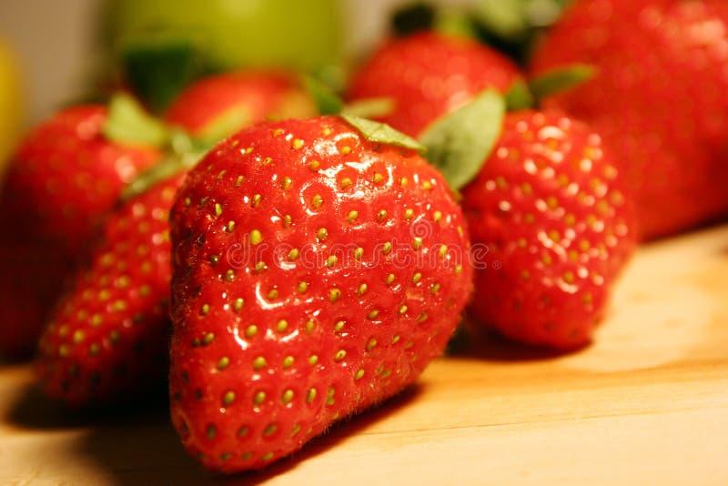 Frutas de la fresa foto de archivo libre de regalías